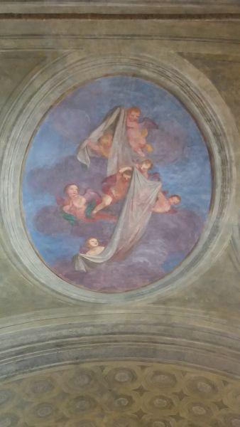 TORINO. Real Chiesa di San Lorenzo. Cappella dell'Addolorata.