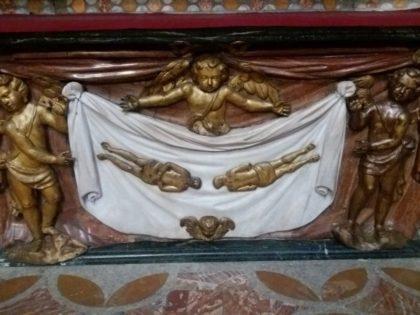 TORINO. Real Chiesa di San Lorenzo. Cappella del Crocifisso.