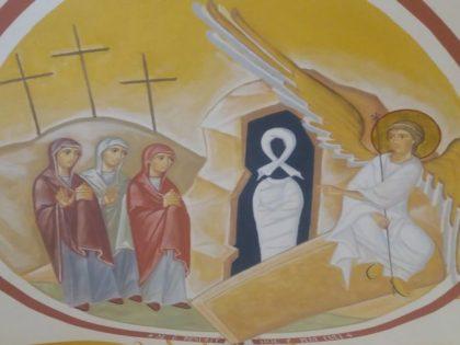 CERCIVENTO (Ud). Una bibbia a cielo aperto: Sepolcro di Cristo con la Sindone.