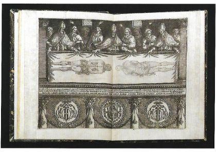 TORINO, Biblioteca Reale. Sindon evangelica Accesserunt hymni aliquot, insignis Bulla Pontifica.