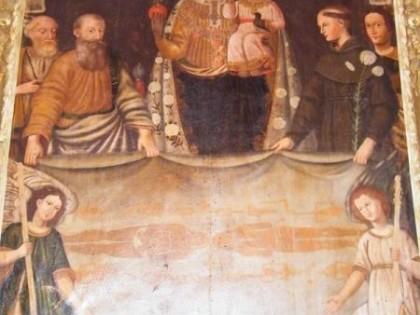 INGRIA (To), borgata Mombianco, Chiesetta della Sacra Sindone.