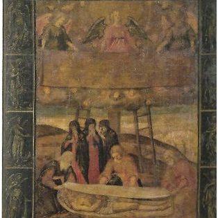 TORINO, Museo della Sindone, Tempera su seta, di Giovanni Battista Della Rovere.