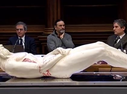 L'Uomo della Sindone ricostruito in 3D. I Vangeli raccontano la verità.